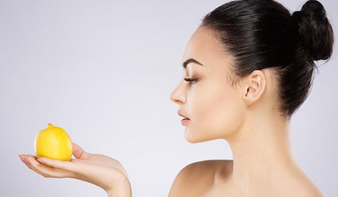 Applying Lemon Juice to Skin