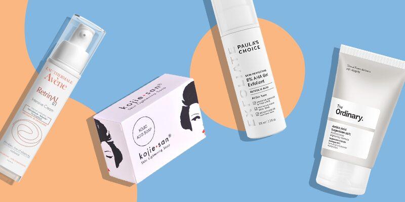 Different Skin Lightening Creams